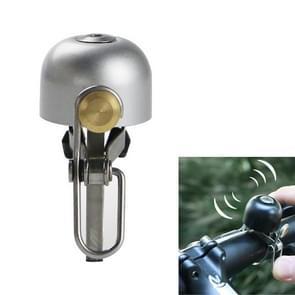 Fiets bell retro koperen bell fietsen accessoires (Zilver)