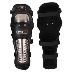 HX-P15 Cross Country Leggings Motorcycle Protective Gear Stainless Steel Knee Pads