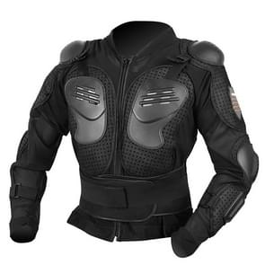Anti-fall Armor Motocross Racing Suit Adult Shockproof Suit, Size: 4XL (Black)