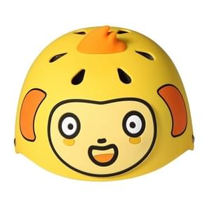 Original Xiaomi 700Kids 6 PCS Monkey Pattern Cartoon Cute Child Sports Protective Helmet