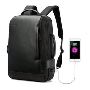 Bopai 751-006631 Large Capacity Business Fashion Breathable Laptop Backpack with External USB Interface, Size: 32 x 16 x 45cm(Black)