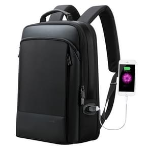 Bopai 61-07311 Large Capacity Anti-theft Waterproof Backpack Laptop Tablet Bag for 15.6 inch and Below, External  USB Charging Port(Black)