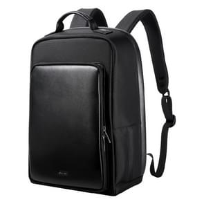Bopai 751-005871 Large Capacity Scratch-proof Business Simplicity Breathable Laptop Backpack with External USB Interface, Size: 30 x 14 x 45cm(Black)