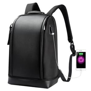 Bopai 751-006191 Large Capacity Anti-theft Business Simplicity Breathable Laptop Backpack with External USB Interface, Size: 29 x 14.5 x 43cm(Black)