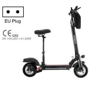 [EU-opslagplaats] HONEY WHALE E5 10 inch 48V 600W Wide Wheel Shock Absorber Single Drive Elektrische Scooter met tas  tot 40km/h (Zwart)