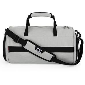 IX LK8036A Waterproof Multi-function Dry Wet Separation Yoga Fitness  One-shoulder Portable Travel Bag with Pull Rod Strap, Size: 45 x 26 x 26cm(Light Grey)