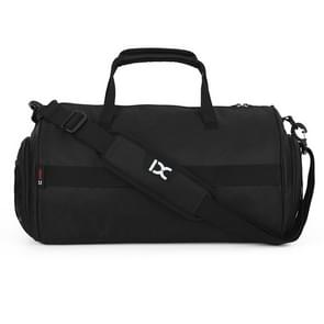 IX LK8036 Waterproof Multi-function Yoga Fitness  One-shoulder Portable Travel Bag, Size: 39 x 22 x 22cm(Black)