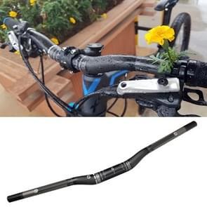 TOSEEK Full Carbon Fiber Road Bike Bent Handlebar, Size: 740mm (Matte)