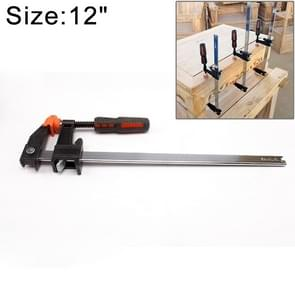 12 Inch Multi-function Two-way F Clip Woodworking Fast Fixed Clamping and Splicing Tool