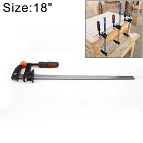 18 Inch Multi-function Two-way F Clip Woodworking Fast Fixed Clamping and Splicing Tool