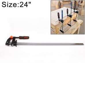 24 Inch Multi-function Two-way F Clip Woodworking Fast Fixed Clamping and Splicing Tool