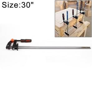 30 Inch Multi-function Two-way F Clip Woodworking Fast Fixed Clamping and Splicing Tool