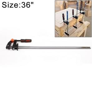 36 Inch Multi-function Two-way F Clip Woodworking Fast Fixed Clamping and Splicing Tool