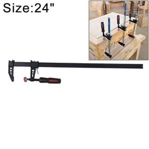 24 Inch Thicken F Clip Woodworking Fast Fixed Clamping and Splicing Tool