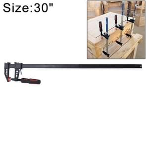 30 Inch Thicken F Clip Woodworking Fast Fixed Clamping and Splicing Tool