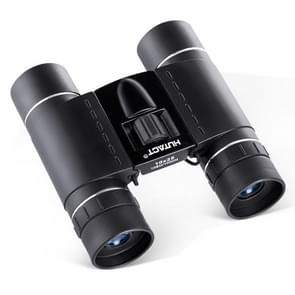 HTK-71-01 10x25 Outdoor Mini Folding Binocular Telescope for Children (Black)