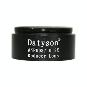 Datyson 5P0087 Fine Thread Astronomische Telescoop Accessoires 1 25 inch 0 5X Defocusing Lens Reducer (Zwart)