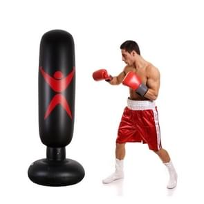 PVC Children Inflatable Boxing Column Fitness Toy Thickening Strike Sandbags, Height: 160cm
