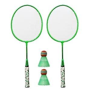 REGAIL H6508 badminton racket + racket cover + Rainbow badminton set voor kinderen (groen)