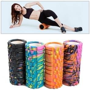High Density Yoga Pilates Fitness Foam Roller, Random Color Delivery
