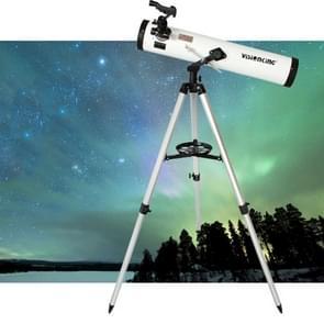 Visionking hoge kwaliteit astronomie (700 / 76mm) 3 inch telescoop Newtoniaanse Reflector ruimtetelescoop
