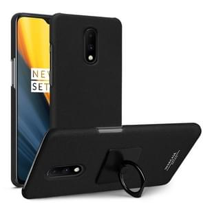 IMAK Matte Touch Cowboy PC Case for OnePlus 7 (Black)