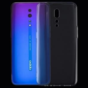 0.75mm Ultrathin Transparent TPU Soft Protective Case for OPPO Reno Z