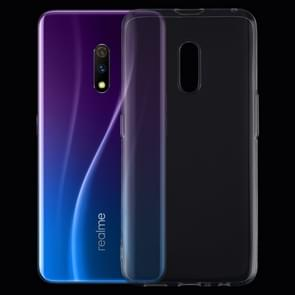 0.75mm Ultrathin Transparent TPU Soft Protective Case for OPPO Realme X