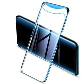 GKK galvaniseren transparante Case voor OPPO Find X (blauw)