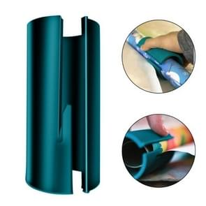 Christmas Paper Cutting Tool Cylinder Paper Cutter Wrapping Paper Cutter(Blue)