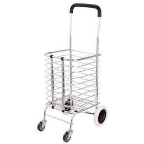 Portable Foldable Household Aluminum Alloy Luggage Truck Hand Cart Shopping Small Trolley Case