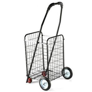 Portable Foldable Household Luggage Truck Hand Cart Shopping Small Trolley Case