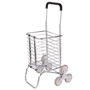 Portable Foldable Aluminum Alloy Luggage Truck Hand Cart Shopping Small Trolley Case