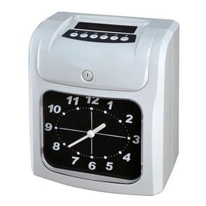 Electronic Time Clock Paper Card English Attendance Machine Punch Machine, Support Music Bell