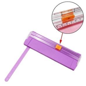 A5 Paper Trimmer Paper Cutter Photo Cutter Business Card Cutter Paper Cutting Machine, Random Color Delivery