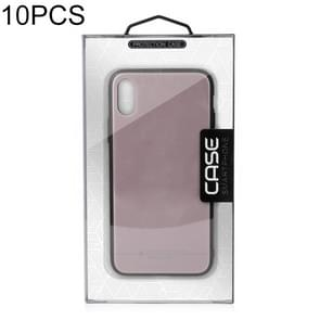 10 PCS High Quality Cellphone Case PVC Package Box for iPhone (5.5 / 6.1 / 6.5 inch)