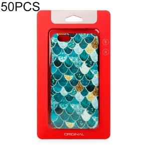 50 PCS High Quality Cellphone Case Kraft Paper Package Box for iPhone (4.7 inch)Available Size: 148mm x 78mm x 7mm(Red)