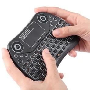 S913 2 4 GHz mini slimme kleurrijke backlit oplaadbare draadloze gaming toetsenbord voor Tablet/PC/Android TV geval  met touchpad & lucht muis