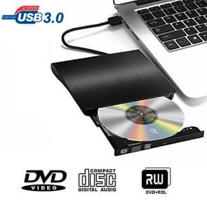 Brushed Texture USB 3.0 POP-UP Mobile External DVD-Rw DVD / CD Rewritable Drive External ODD & HDD Device
