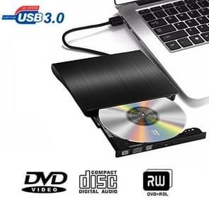 Geborsteld textuur USB 3.0 pop-mobiele externe DVD-Rw  DVD / CD-RW Drive externe oneven & HDD apparaat