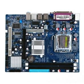 LGA 775 DDR2 Desktop Computer Motherboard for Intel 945GV Chip, Integrated Sound Card Graphics Card Network Card, Support Single / Dual Core