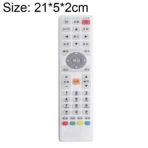 Smart TV Box Remote Control Waterproof Dustproof Silicone Protective Cover, Size: 21*5*2cm