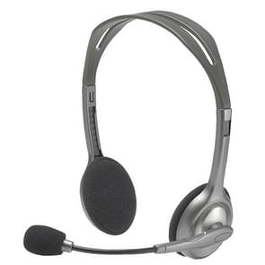 Logitech H110 Dual 3 5 mm audiostekkers stereoheadset