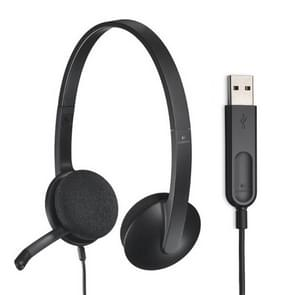 Logitech H340 Computer Office Education Training USB-interfacemicrofoon bedrade headset