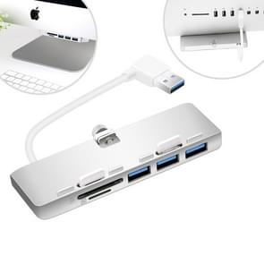 Rocketek USB3-3PC2-iMac USB 3.0 HUB 3 Port Adapter with SD & TF Card Reader