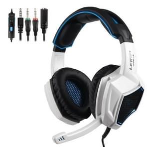 SADEs LETTON L9 3 5 mm Metal Woven Mesh Wired verstelbare gaming hoofdtelefoon met verborgen microfoon & 1 tot 2 3 5 mm audio kabel  lengte: 1 5 m
