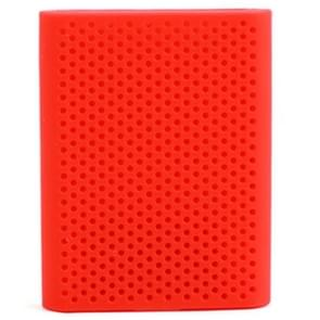 PT500 Scratch-resistant All-inclusive Portable Hard Drive Silicone Protective Case for Samsung Portable SSD T5, with Vents (Red)