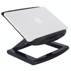 ROOSTAND Aluminum Alloy Laptop Height Extender Holder Stand Folding Portable Computer Heat Dissipation Bracket, Size: 28x29.6cm(Black)