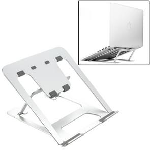 Laptop Height Extender Holder Stand Folding Portable Computer Heat Dissipation Bracket, Size: 22.3x23.5x1.3cm (Silver)