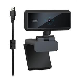 HXSJ S3 500W 1080P verstelbare 180 graden HD automatische scherpstelling PC camera met microfoon (zwart)